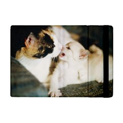 CALICO CAT AND WHITE KITTY iPad Mini 2 Flip Cases by trendistuff
