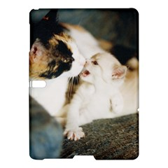 CALICO CAT AND WHITE KITTY Samsung Galaxy Tab S (10.5 ) Hardshell Case  by trendistuff