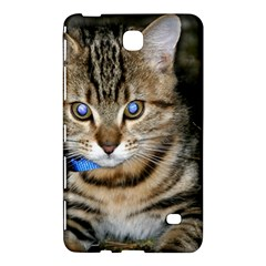 BLUE-EYED KITTY Samsung Galaxy Tab 4 (7 ) Hardshell Case  by trendistuff