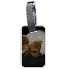 Adorable Baby Puppies Luggage Tags (two Sides) by trendistuff