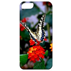 Butterfly Flowers 1 Apple Iphone 5 Classic Hardshell Case by trendistuff