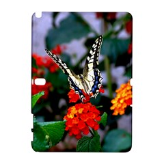 Butterfly Flowers 1 Samsung Galaxy Note 10 1 (p600) Hardshell Case by trendistuff