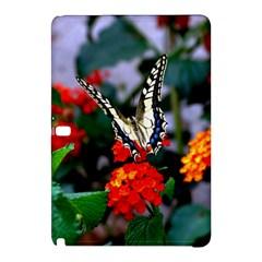 Butterfly Flowers 1 Samsung Galaxy Tab Pro 10 1 Hardshell Case by trendistuff