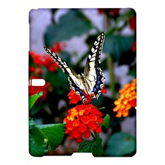 Butterfly Flowers 1 Samsung Galaxy Tab S (10 5 ) Hardshell Case  by trendistuff