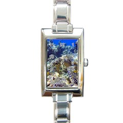 Sea Turtle Rectangle Italian Charm Watches by trendistuff