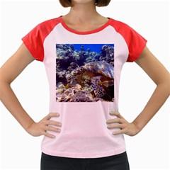 Sea Turtle Women s Cap Sleeve T Shirt by trendistuff