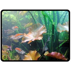 Marine Life Double Sided Fleece Blanket (large)  by trendistuff