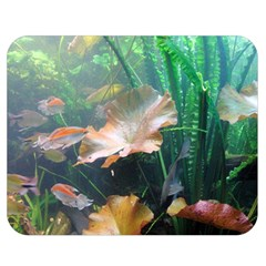 Marine Life Double Sided Flano Blanket (medium)  by trendistuff