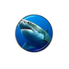 GREAT WHITE SHARK 3 Hat Clip Ball Marker by trendistuff