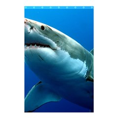 GREAT WHITE SHARK 3 Shower Curtain 48  x 72  (Small)  by trendistuff