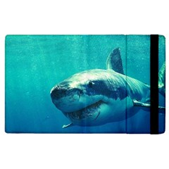 Great White Shark 1 Apple Ipad 3/4 Flip Case by trendistuff