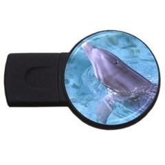 Dolphin 2 Usb Flash Drive Round (2 Gb)  by trendistuff