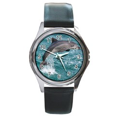 Dolphin Round Metal Watches by trendistuff