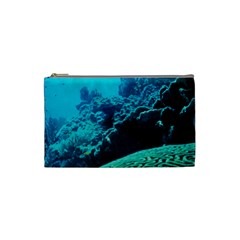 CORAL REEFS 2 Cosmetic Bag (Small)  by trendistuff
