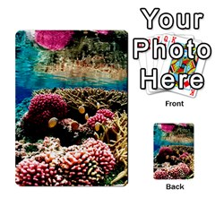 CORAL REEFS 1 Multi-purpose Cards (Rectangle)  by trendistuff