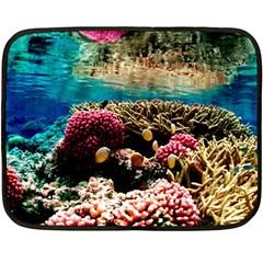 Coral Reefs 1 Double Sided Fleece Blanket (mini)  by trendistuff