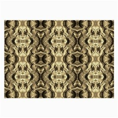 Gold Fabric Pattern Design Large Glasses Cloth by Costasonlineshop