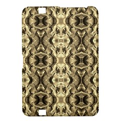 Gold Fabric Pattern Design Kindle Fire HD 8.9  by Costasonlineshop