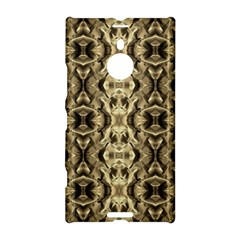 Gold Fabric Pattern Design Nokia Lumia 1520 by Costasonlineshop