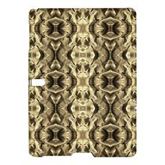 Gold Fabric Pattern Design Samsung Galaxy Tab S (10.5 ) Hardshell Case  by Costasonlineshop