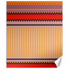 Stripes And Chevrons			canvas 8  X 10  by LalyLauraFLM