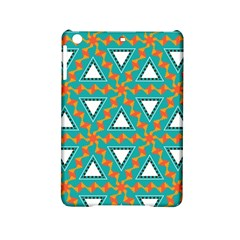 Triangles and other shapes patternApple iPad Mini 2 Hardshell Case by LalyLauraFLM