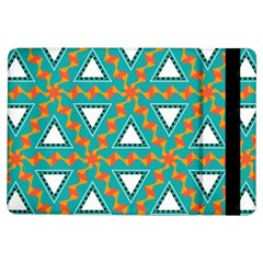 Triangles And Other Shapes Patternapple Ipad Air Flip Case by LalyLauraFLM