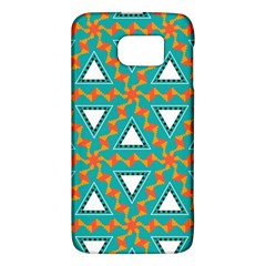 Triangles And Other Shapes Patternsamsung Galaxy S6 Hardshell Case by LalyLauraFLM