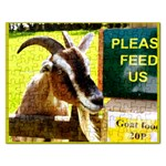 Please feed Us Goat Food 20P  Template  : Puzzle - Jigsaw Puzzle (Rectangular)