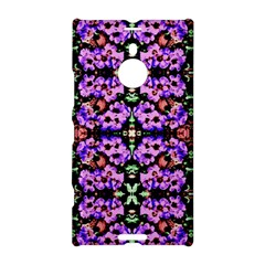 Purple Green Flowers With Green Nokia Lumia 1520 by Costasonlineshop