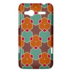 Stars and honeycombs pattern			HTC Radar Hardshell Case by LalyLauraFLM