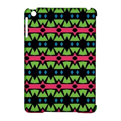 Shapes On A Black Background Pattern			apple Ipad Mini Hardshell Case (compatible With Smart Cover) by LalyLauraFLM