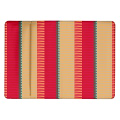 Stripes And Other Shapes			samsung Galaxy Tab 10 1  P7500 Flip Case by LalyLauraFLM