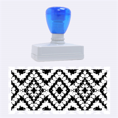 Colorful Diamond Crochet Rubber Stamps (large) by Costasonlineshop
