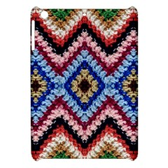 Colorful Diamond Crochet Apple Ipad Mini Hardshell Case by Costasonlineshop