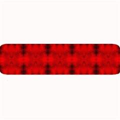 Red Black Gothic Pattern Large Bar Mats by Costasonlineshop