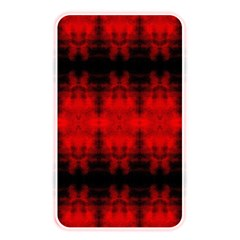 Red Black Gothic Pattern Memory Card Reader by Costasonlineshop