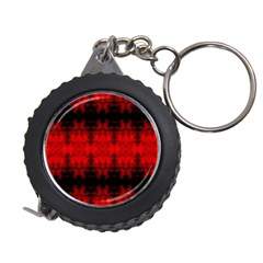 Red Black Gothic Pattern Measuring Tapes by Costasonlineshop