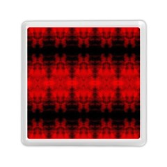 Red Black Gothic Pattern Memory Card Reader (square)  by Costasonlineshop