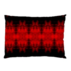 Red Black Gothic Pattern Pillow Cases (two Sides) by Costasonlineshop