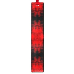 Red Black Gothic Pattern Large Book Marks by Costasonlineshop
