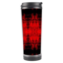 Red Black Gothic Pattern Travel Tumblers by Costasonlineshop