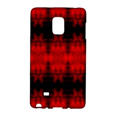 Red Black Gothic Pattern Galaxy Note Edge by Costasonlineshop