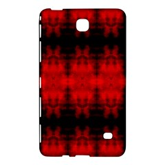 Red Black Gothic Pattern Samsung Galaxy Tab 4 (7 ) Hardshell Case  by Costasonlineshop