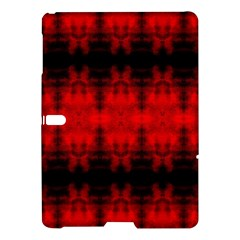 Red Black Gothic Pattern Samsung Galaxy Tab S (10 5 ) Hardshell Case  by Costasonlineshop