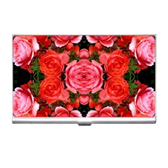 Beautiful Red Roses Business Card Holders by Costasonlineshop