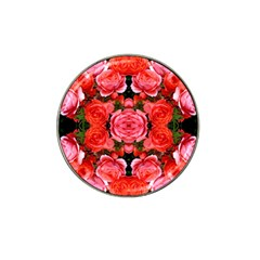 Beautiful Red Roses Hat Clip Ball Marker (4 pack) by Costasonlineshop
