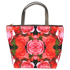 Beautiful Red Roses Bucket Bags by Costasonlineshop