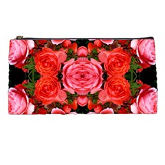 Beautiful Red Roses Pencil Cases by Costasonlineshop