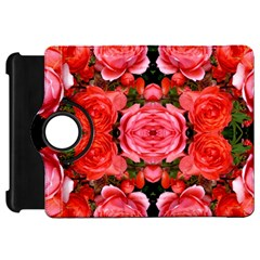 Beautiful Red Roses Kindle Fire Hd Flip 360 Case by Costasonlineshop